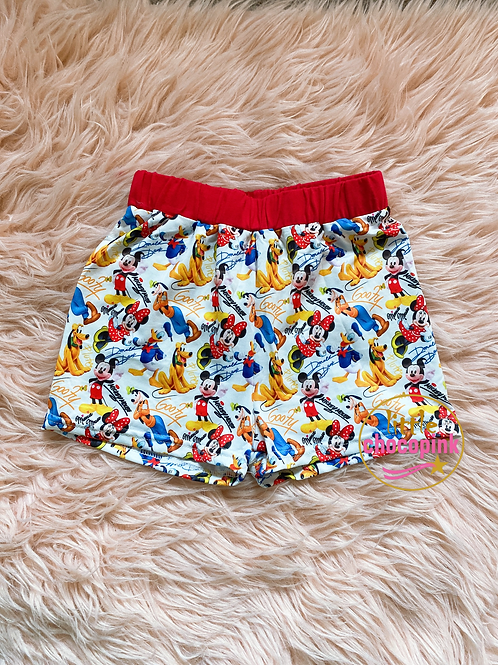 Disney characters shorts
