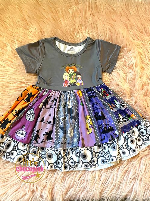 Hocus Pocus twirl dress