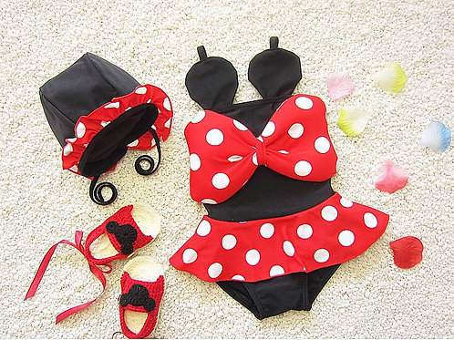Minnie swimsuits set