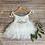 Thumbnail: Helena tulle dress in white