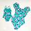 Thumbnail: Off shoulder floral suits  Mommy & Me