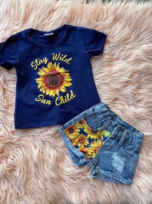 Sun Child denim set