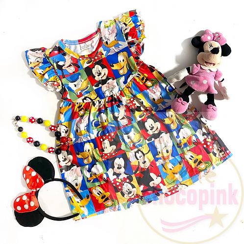 Disney portrait dress