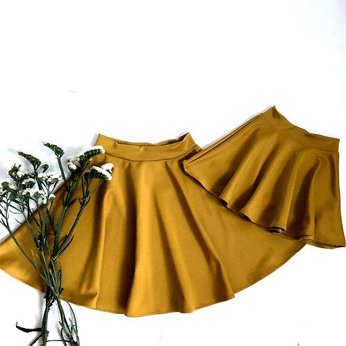 Mustard skirts