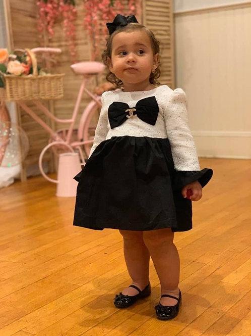 Coco bow dress
