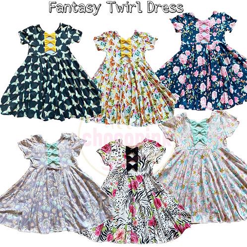 Fantasy Twirl dress