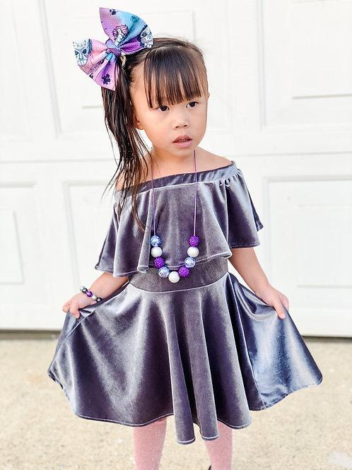 Aria Velvet dress