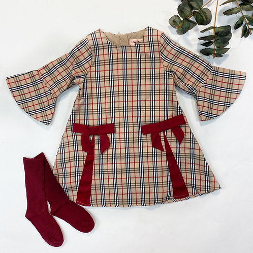 Hannah plaid dress