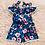 Thumbnail: Florals blue romper