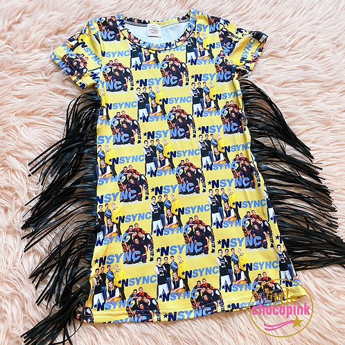 Mix Tape tshirt dress