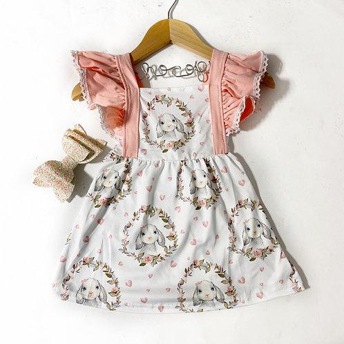 Rabbit ruffles dress