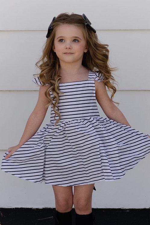 Babydoll stripes set