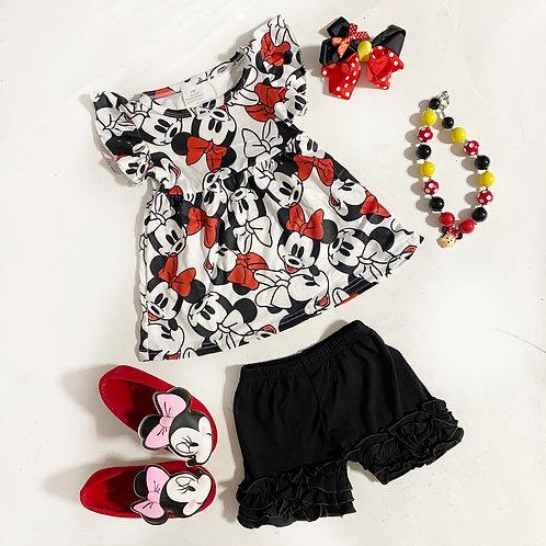 Minnie black set