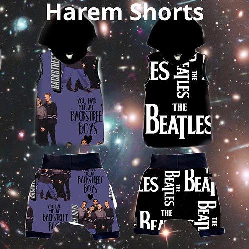 Mix Tape 2 Harem shorts