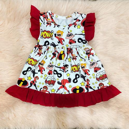 Incredibles Ruffle dress