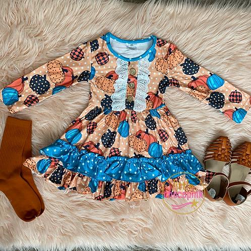 Dottie Pumpkin dress