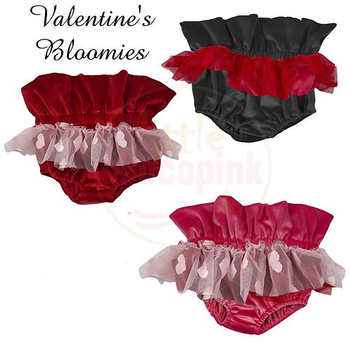 Valentine's Velvet Bloomies