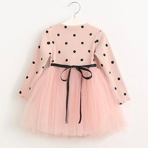 Polkadots tulle dress