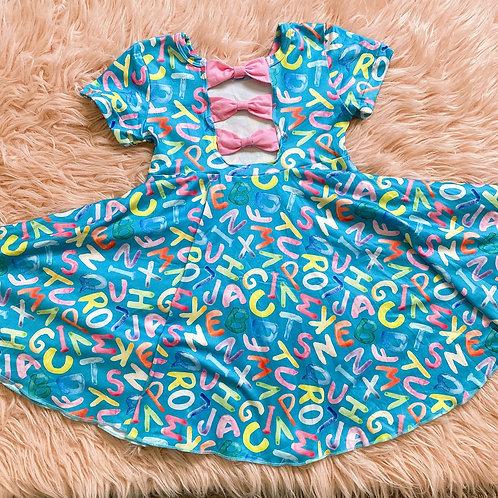 Back To School Twirl dress