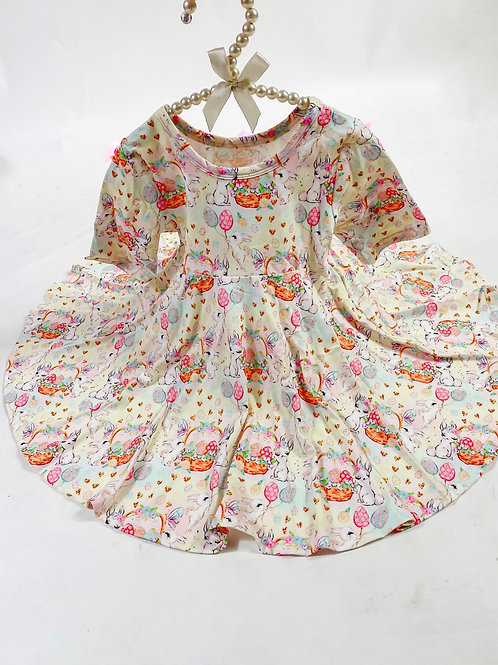 Bunny Blossoms twirl dress