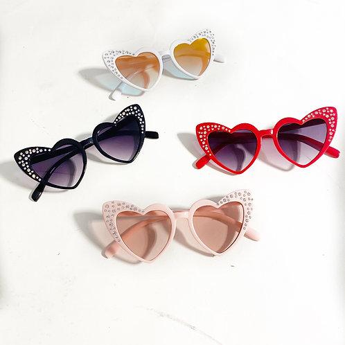 Studs heart shades