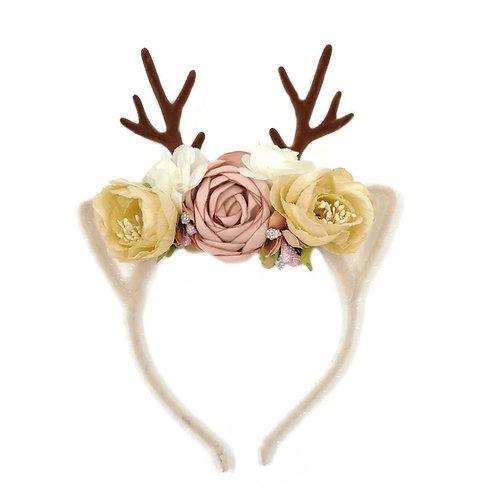 Flower Antler headbands