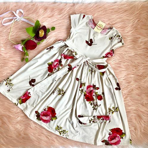 Twirl floral dress