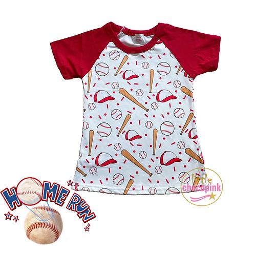 Baseball drop raglans