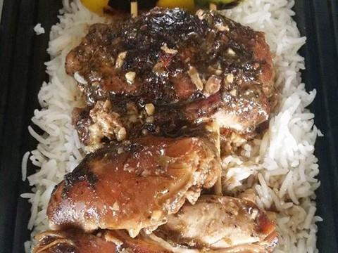 Island Kabob Plate