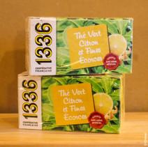 T5 Groene thee met citroenschil