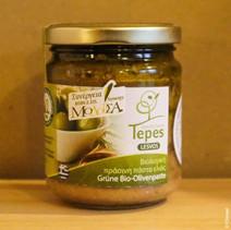 O11 Pesto van groene olijven