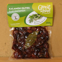 O14 Kalamata olijven met kruiden