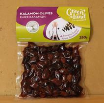 O15 Kalamata olijven met balsamico creme