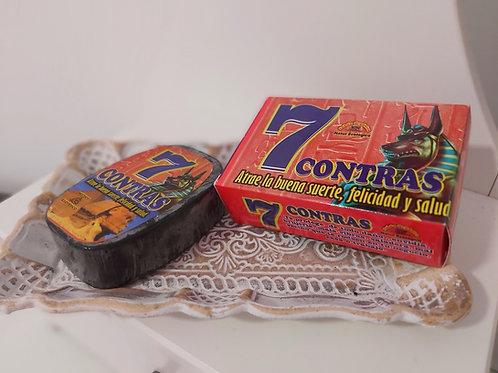Jabón esotérico 7 CONTRAS