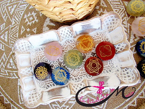 Kit Piedras 7 Chakras
