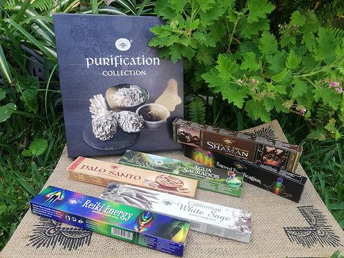 Set 6 Pack Inciensos- Purificación