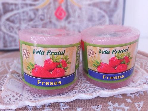Vela Frutal FRESAS