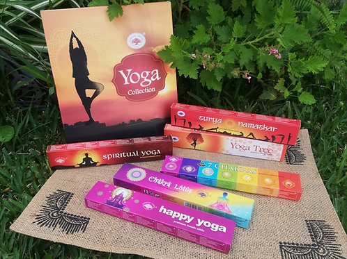 Set 6 Pack Inciensos- Yoga