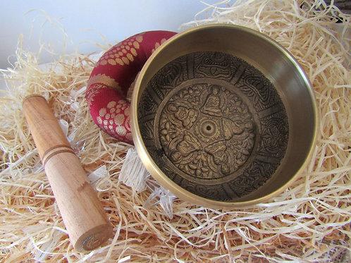 Cuenco Tibetano Dorado (11cm)