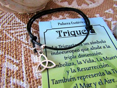 Pulsera Triqueta