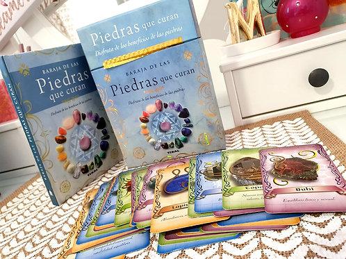 Caja Libro + Baraja Piedras Naturales