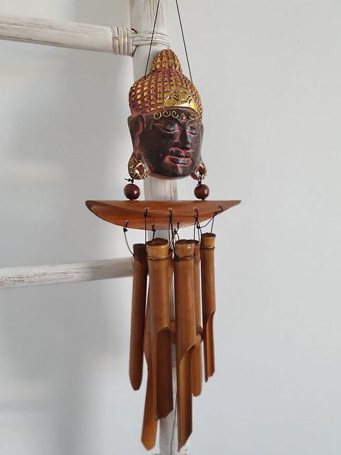 Llamador Viento Buda Rosa