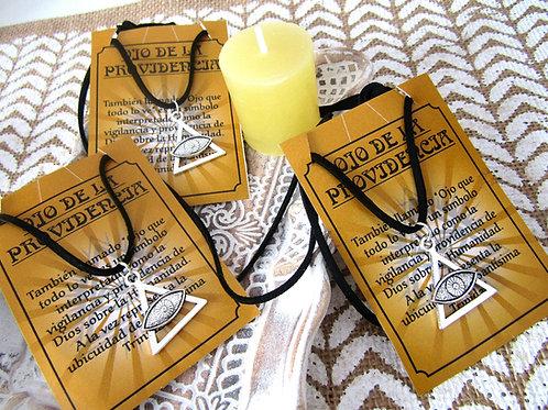 Colgante Amuleto Ojo Providencia