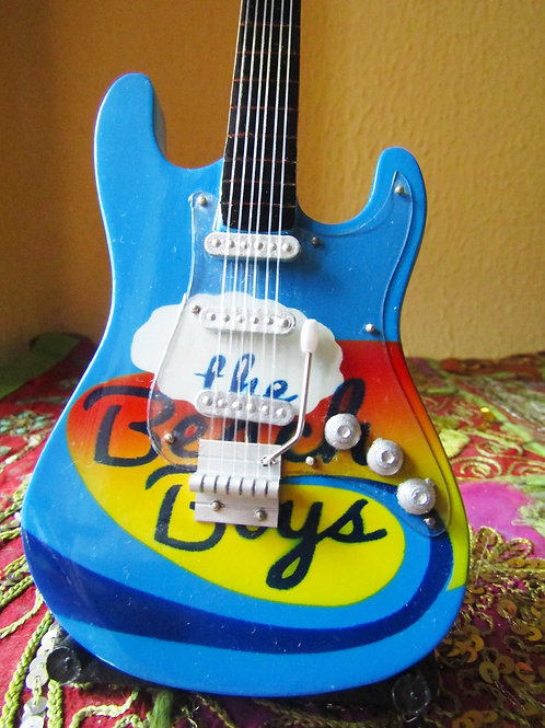 Guitarra decorativa Beachboys