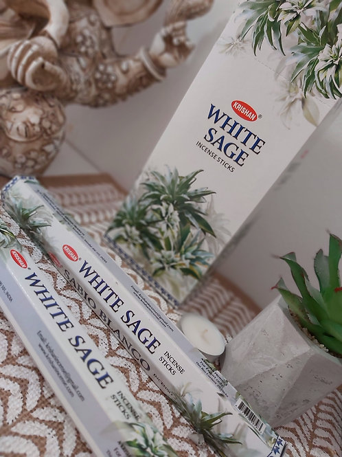 Incienso Salvia Blanca
