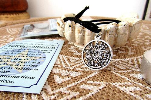 Colgante Amuleto Tetragramaton