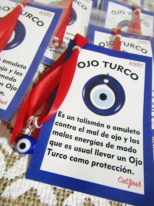 Pulsera Lazo Rojo Ojo Turco