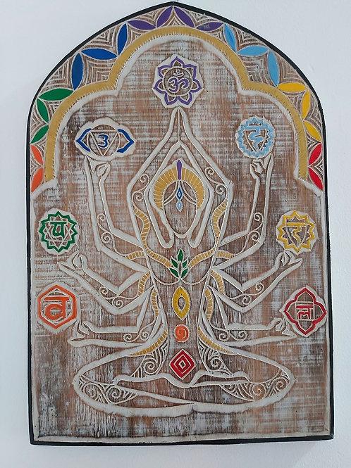 Tabla 7 Chakras (Silueta)