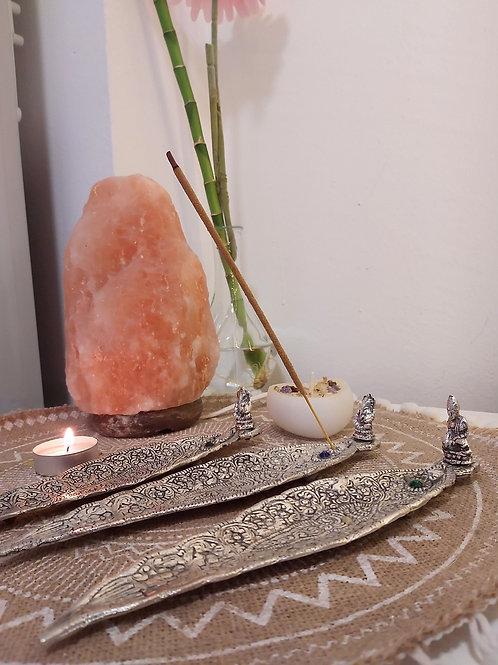 Incensario Metal (Ganesha/ Budha)