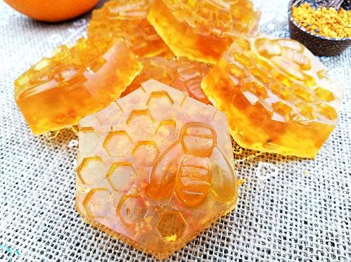 Jabón Miel y Naranja